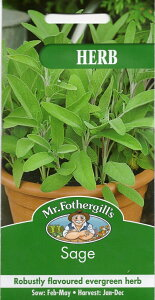 【輸入種子】Mr.Fothergill's Seeds HERB Sage ハーブ セージ ミスター・フォザーギルズシード