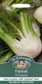 【輸入種子】Mr.Fothergill's SeedsFennel di Firenzeフェンネル・デ・フィレンツェ