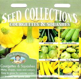 【輸入種子】Mr.Fothergill's SeedsSEED COLLECTIONSCOURGETTES & SQUASHESシードコレクション・クルジェット&スカッシュミスター・フォザーギルズシード