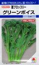 【種子】茎ブロッコリーグリーンボイスタキイ種苗のタネ
