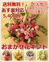 ≪送料無料!≫おまかせ花ギフト☆5,400円コース お花の色合い・ご用途等をお選び下さい!誕生日 お祝い お見舞い 開店祝い 御祝 バラ…