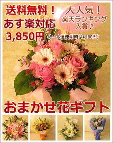 ≪送料無料!≫おまかせ花ギフト☆3,500円コースお花の色合いやご用途をお選び下さい!(あす楽対応はお休み中)