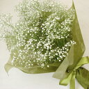 ふんわりカスミソウの花束