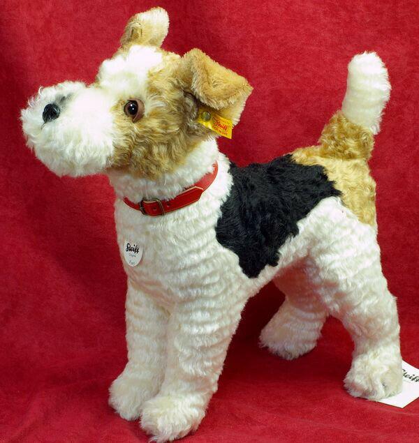 フォクシー フォックステリア Foxy fox terrier 35cmシュタイフ社テディベアテディベア ぬいぐるみ 誕生日 プレゼント 内祝い ギフト クリスマス