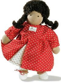 ケーセン ぬいぐるみ kosen ケーセン ジルケ人形 kosen Silke Conny(コニー) こげ茶髪 35cm 知育玩具 リアル 動物