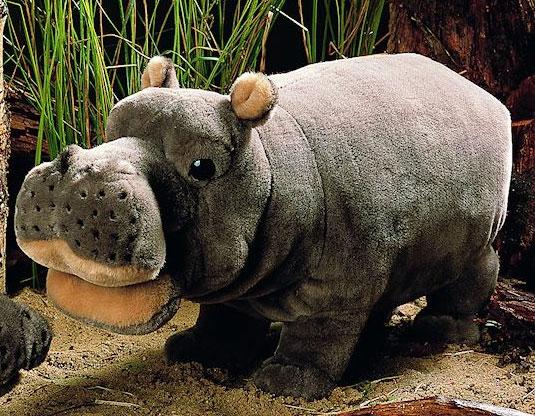 かば(小) KOSEN(ケーセン社) 45cm Hippo/ぬいぐるみ プレゼント/リアル/動物/ギフト/子供/女の子/男の子/大人