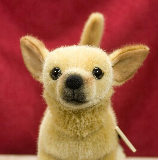 ケーセン社チワワ27cmCHIHUAHUA犬いぬぬいぐるみねこネコ猫プレゼント/リアル/動物/ギフト/子供/女の子/男の子/大人/クリスマス