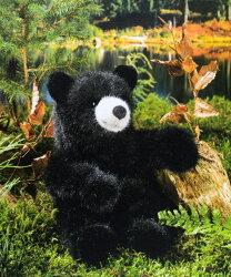 ブラックベア(子供)BlackBear(Young)26cmKOSEN(ケーセン社)/クマ/くま/テディベア