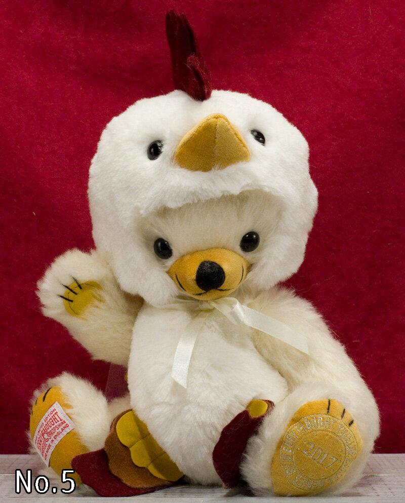 日本限定 干支チーキー「酉」 Cheeky Rooster 25cmテディベア ぬいぐるみ プレゼント コレクション クリスマス