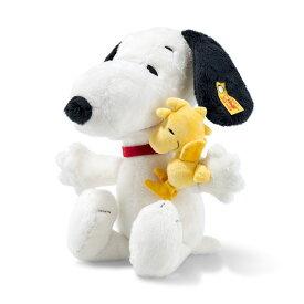 シュタイフ テディベア Steiff ドイツ限定 スヌーピー&ウッドストック 28cm ソフト テディベア Snoopy Woodstock