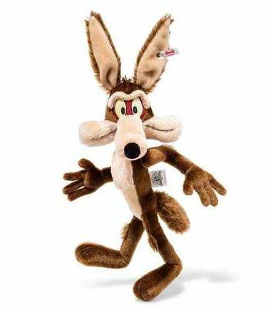 【予約】Steiffシュタイフ テディベア ワイリー・コヨーテ(Wile E. Coyote)