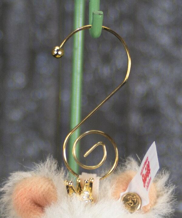 シュタイフテディベアSteiffオーナメントマウスクイーン世界限定MouseQueenOrnament