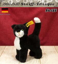シュタイフSteiffアンティークテディベアDossyKatzeキャット猫16cmぬいぐるみ
