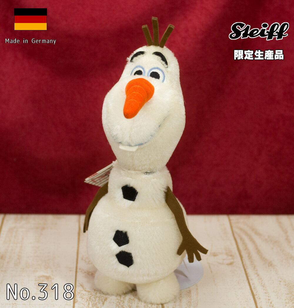 シュタイフ(steiff) 世界限定 アナと雪の女王より オラフ テディベア Olaf Teddy Bear /プレゼント/ぬいぐるみ/クリスマス/