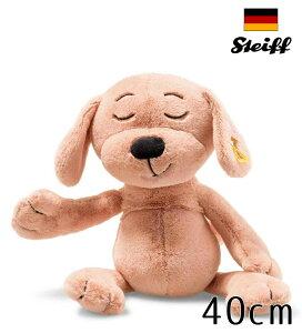 シュタイフ テディベア Steiff Cuddly(カドリー)キャラメル ドッグ 40cm 犬 ぬいぐるみ 誕生日 プレゼント 内祝い ギフト クリスマス