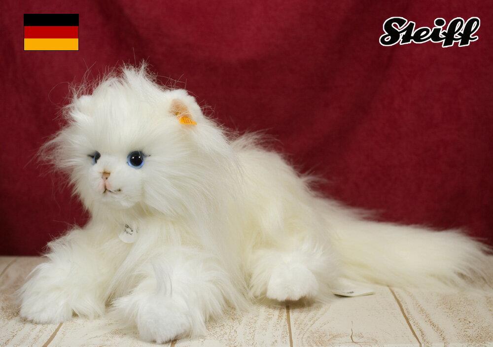 Steiffシュタイフ プリンセス ペルシャネコ 猫 ぬいぐるみ 誕生日 プレゼント 内祝い ギフト クリスマス
