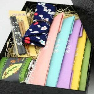 千歳飴贈答用ギフト つなぎ箸入り 箸袋(猫と花柄)(レビュー書き込みで次回あめプレゼント)