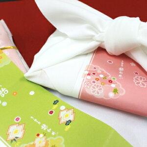 千歳飴5本入 白風呂敷 夢色結び(レビュー書き込みで次回あめプレゼント)