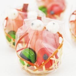 ひなまつり 桃の節句 お祝い イベント お菓子 ミニ雛かご かわいい プチギフト