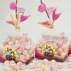 ひなまつり 桃の節句 お祝い イベント お菓子 京てまり お手毬 かわいい 京あめ プチギフト 造花付き