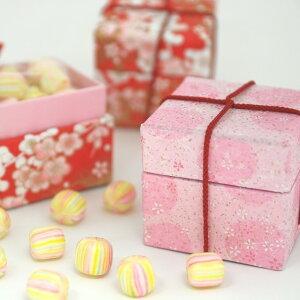ひなまつり 桃の節句 お祝い お菓子 雛小箱 かわいい 京あめ 錦玉 プチギフト