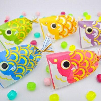 【こどもの日 お菓子 端午の節句 こいのぼり】プチ京鯉のぼり(レビュー書き込みで次回あめプレゼント)