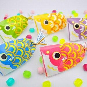 こどもの日 お菓子 端午の節句 こいのぼり プチ京鯉のぼり(レビュー書き込みで次回飴プレゼント)