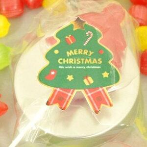 クリスマスプチギフト☆クリスマスキャンディ缶 1ケース(20個)☆レビュー書き込みで次回あめプレゼント