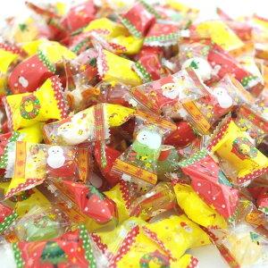 業務用クリスマスキャンディー3,000粒入り【送料無料】(レビュー書き込みで次回あめプレゼント)