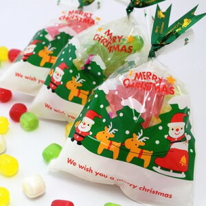 クリスマスプチギフト☆クリスマスパックキャンディ 4ケース(80個)☆レビュー書き込みで次回あめプレゼント