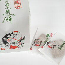 茶の葉せんべい【14枚袋入】