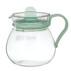 【20%OFF】iwaki(イワキ) レンジのポット・プチティー(グリーン)耐熱ガラス ポット イワキガラス
