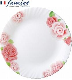 【50%OFF】【メーカー公式】iwaki(イワキ) ファミエットローズ大皿