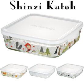 【メーカー公式】Shinzi Katoh iwaki(イワキ) パック&レンジ1200ml(ホワイト) シンジカトウ  作り置きにぴったり  【容量】1200ml耐熱ガラス ガラス 保存容器 常備菜