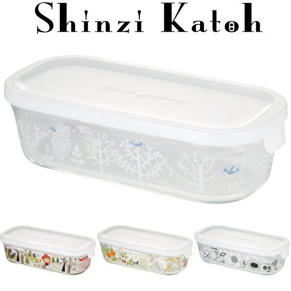 【メーカー公式】Shinzi Katoh iwaki(イワキ) パック&レンジ500ml(ホワイト) シンジカトウ  作り置きにぴったり  【容量】500ml耐熱ガラス ガラス保存容器 常備菜 作り置き