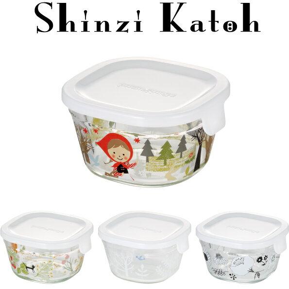 【メーカー公式】Shinzi Katoh iwaki(イワキ) パック&レンジ200ml(ホワイト) シンジカトウ  作り置きにぴったり  【容量】200ml耐熱ガラス ガラス 保存容器 常備菜 作り置き