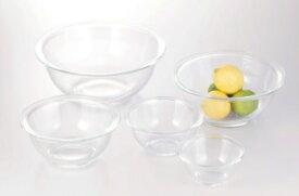 【25%OFF】iwaki イワキ 耐熱ガラスボウル5点セット 料理 パーティー オーブン 皿 焼き レンジ 耐熱ガラス かわいい おしゃれ フタとセットで保存容器に