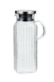 【16%OFF】iwaki(イワキ) スクエアサーバー把手付き 耐熱ガラス イワキガラス 冷水筒 麦茶入れ