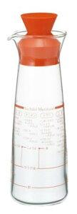【在庫限り★半額】iwaki(イワキ) 村上祥子のこれはオススメ!ドレッシング ドレッシングボトル 耐熱ガラス レシピ付き オレンジ ギフト