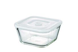 【NEW】簡単密閉 iwaki(イワキ) 密閉パック&レンジ(ホワイト) 【容量】700ml 耐熱ガラス ガラス 保存容器 白 常備菜 つくおき 作り置き 作り置きにぴったり もちより 電子レンジOK オーブン