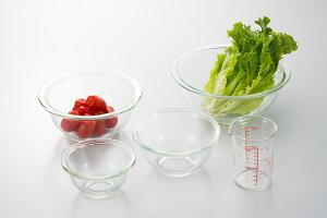 【10%OFF】iwaki(イワキ) 耐熱ガラスボウル4点&メジャーカップセット 料理 パーティー ケーキ オーブン 皿 焼き レンジ 耐熱 ガラス 耐熱ガラス かわいい おしゃれ 映え