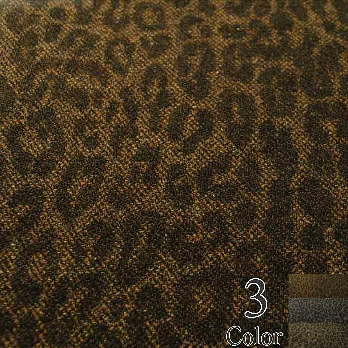 ウール混ツイードヒョウ柄 切り売り(1m単位) 全3色【あす楽対応】