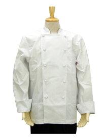 くるみボタンコックコート定番 綿/ポリ コック服 厨房服 ユニフォーム 住商モンブラン 6-911