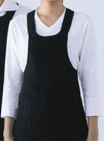 シンプルな七分袖のVネックニットシャツ セブンユニフォーム