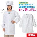 【5%OFFクーポン配布中★10/20限定】給食白衣 前ボタンA型 抗菌シリーズ 学校給食 エプロン 給食着 白衣 給食エプロ…
