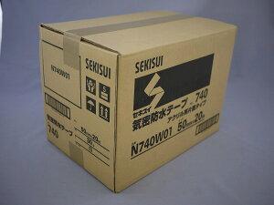 積水化学工業 気密防水テープ 50mmX20M 白 30巻入 N740W01