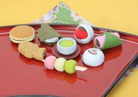 和菓子 消しゴム(60個入)【まとめ買い シリーズ 消しゴム 日本製 プレゼント ご褒美 おまけ 景品 おもちゃ こども 文具 ばらまき】