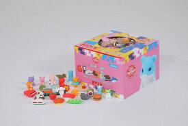 【まとめ買い】消しゴムBOX100(100個入) 【まとめ買い 消しゴム 日本製 プレゼント ご褒美 おまけ 景品 おもちゃ こども 文具 ばらまき フィギュア】