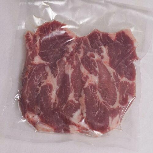 青森やまざきポーク豚ロース豚肩ロース豚バラスライス1kg(200g×5)冷凍(BBQバーベキュー焼き肉焼肉)すき焼き