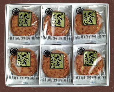 大名せんべい【30枚箱入】佐々木製菓